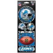 Detroit Lions Prismatic Stickers
