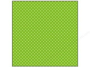 Doodlebug Key Lime Accent Paper 30cm x 30cm Dot