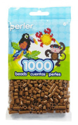 Perler Beads 1000/Pkg-Light Brown