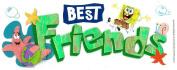 Nickelodeon Titlewave Stickers, SpongeBob Best Friends