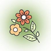 Imaginisce Wildflowers Stamp