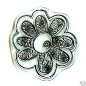 Rhonna Farrer Flower Spiral Clear Stamp