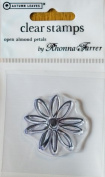 Open Almond Petals Clear Stamp