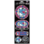 New York Rangers Prismatic Stickers