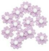 Purple Verbena Embellishments for Scrapbooking