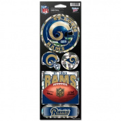St. Louis Rams Prismatic Stickers