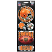 Cleveland Browns Prismatic Stickers
