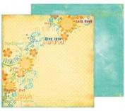 Summer Soir Ds Paper-Sunkissed