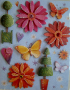 Dimensional Stickers - Flowers and More