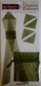 Organza Elements - Green