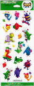 Fun Cartoon Animals Scrapbook Stickers