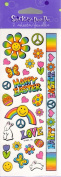 Peace Love Happy Easter Scrapbook Stickers