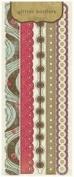 Crate Paper - Mia Collection - Glitter Borders