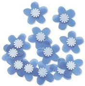 Blue Azalea Embellishments for Scrapbooking