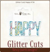 Glitter Cuts Diecuts-Happy