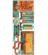 Gypsy Stickr 4.75X12-Fall Favo