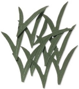 Dark Blade Grass Embellishments for Scrapbooking
