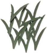 Dark Blade Grass Embellishments for Scrapbooking