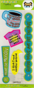 Monday Workday Phrases Scrapbook Stickers