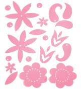Advantus Corporation Heidi Swapp Gel Blossoms, Light Pink