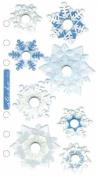 Sticko Turn Styles-falling Snowflakes