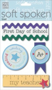 Me & My Big Ideas Soft Spoken 3 Dimensional Embellishments-First Day of School