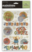 Barb Tourtilotte Epoxy Scrapbook Stickers, Little Boy Theme