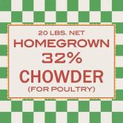 Homespun Paper 30cm x 30cm -Chicken Feed
