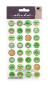 Sticko St. Patrick's Kiss Seals Stickers
