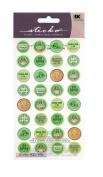 Sticko St. Patrick's Kiss Seals Stickers