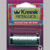 Kreinik Metallic Corded Braid Number 8 (11 Yards) Fine - in your choice of colour