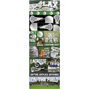 Reminisce Real Sports LaCrosse Graphic Sticker Sheet