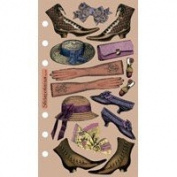 Nostalgiques Vellum Stickers - Gentle Woman