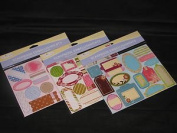 Miss Elizabeth's Scrapbook Embellishments 1 Assorted