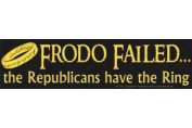 AzureGreen EBFROF Frodo Failed Bumper Sticker