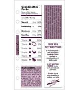 EK Success - Grandmother Facts Stickers