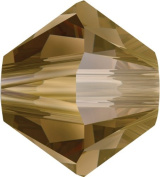 Create Your Style. Elements 4mm Bicone Crystals, Bronze Shade