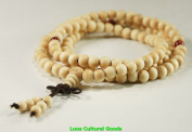 108 Beads Tibetan Prayer Mala Wood Necklace8MM-N017