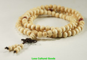 108 Beads Tibetan Prayer Mala Wood Necklace8MM-N017