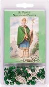 Rosarybeads4u Rosary Rosaries Beads & Novena Booklet St Saint Patrick Green