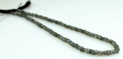Natural Firey Labradorite Rainbow Moonstone Faceted 4-5mm Beads String Strand 14""