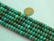 "Green Chrysoprase Beads Gemstone 5* 8mm Facted Roundell 15.5"" Strand Finding Charms Jewellery Making & design Beading"