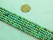 """Green Chrysoprase Beads Gemstone 2.5* 4mm Facted Roundell 15.5"""" Strand Finding Charms Jewellery Making & design Beading"""