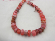 Agate Nature Gemstone Dyed Red Colour Gradualed Irregular Shape 8x14mmto10x20mm 33pcs 18'' Per Strand Beads
