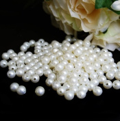 10 mm Ivory Pearls Faux Imitation Plastic Beads - 1 lb lots