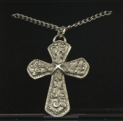 Celtic Cross Pendant in Pewter- 3974