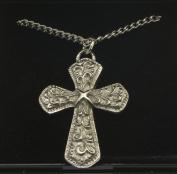 Celtic Cross Pendant in Pewter- 3974