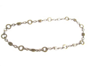 MENS STAINLESS STEEL NECKLACE/CHAIN L 29cm , W 1.3cm GD124