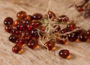 50 Pcs Baltic Amber Beads
