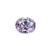 CZ Lavender Facet Oval Unset Loose Gemstone 10mm x 8mm